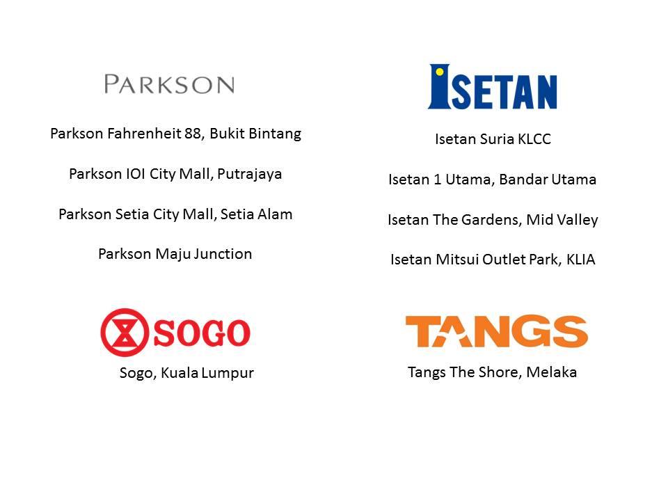 Targus Products counter locations